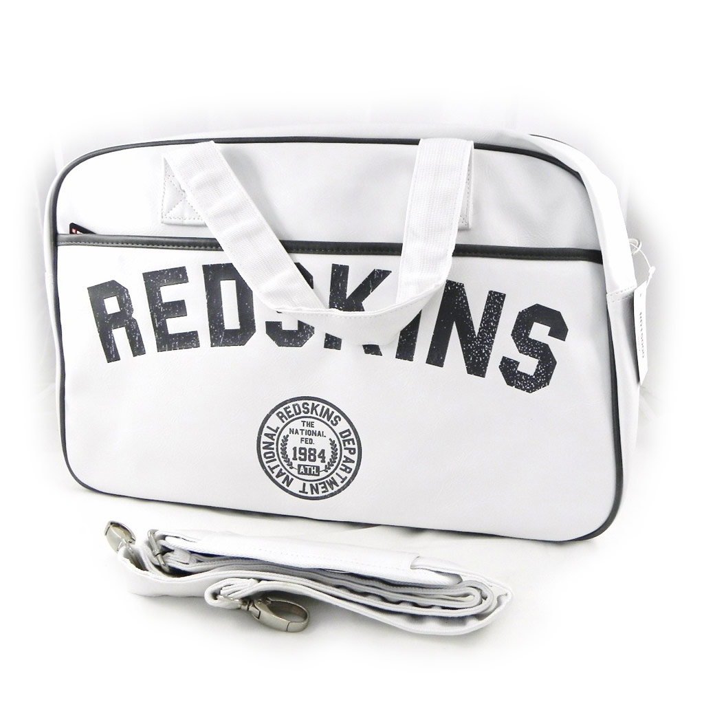 Sac bowling \'Redskins\' blanc - [H4014]