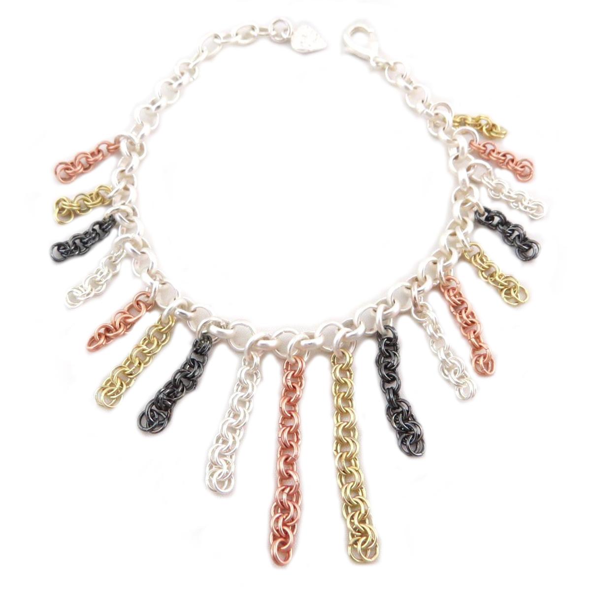 Bracelet Créateur \'Antica\' 4 couleurs - [P9565]