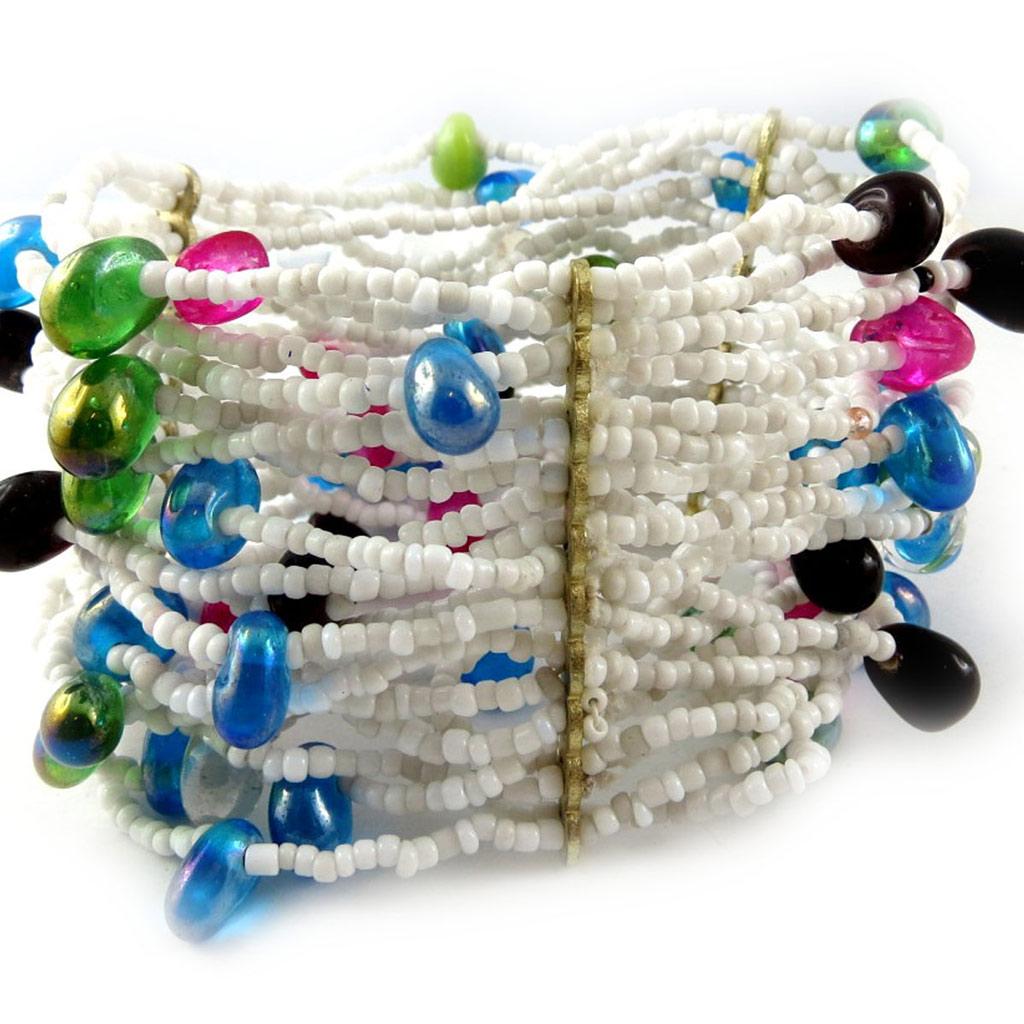 Bracelet \'Kunju\' Tutti Frutti  - [B8180]