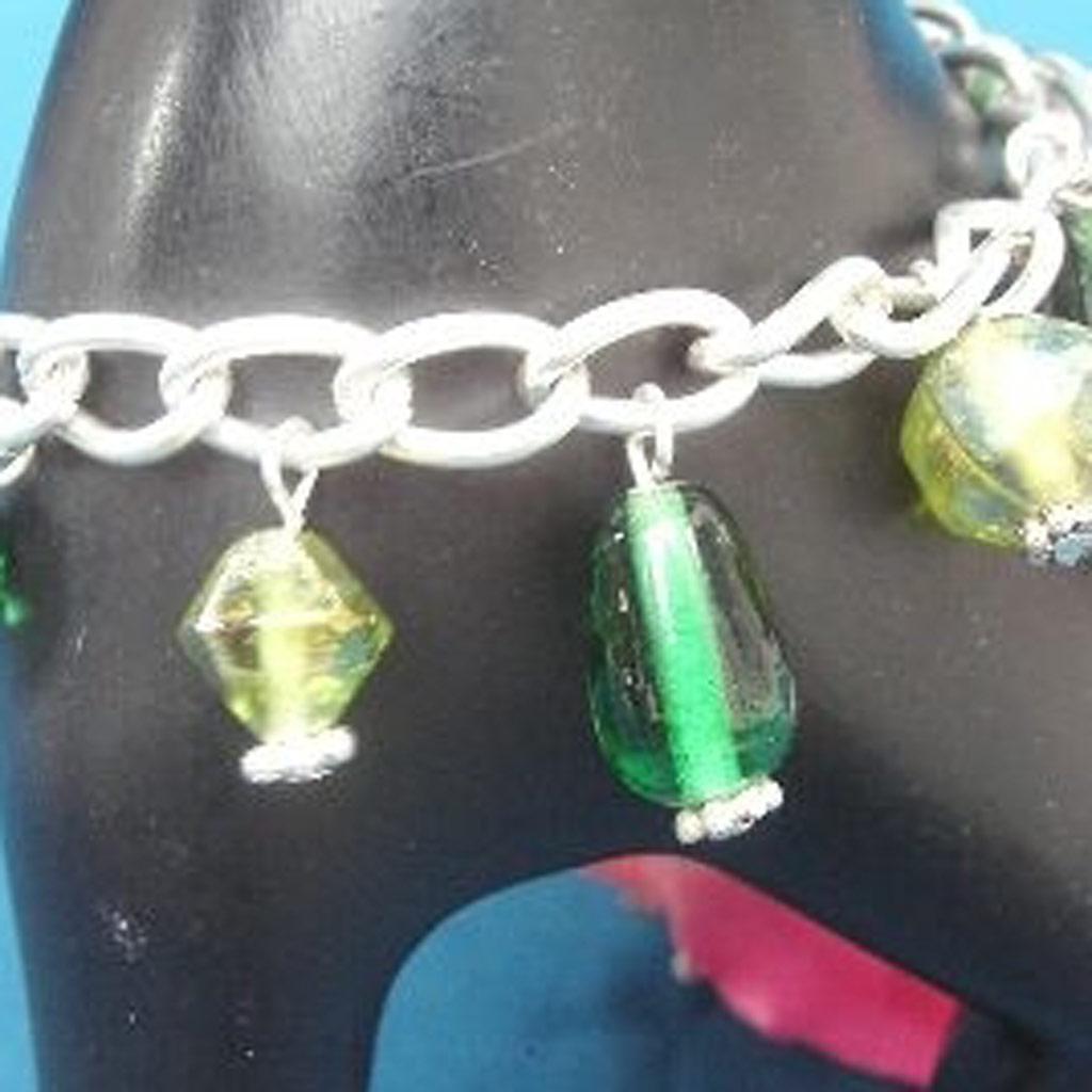 Bracelet \'Chaitali\' Vert  - [B8181]
