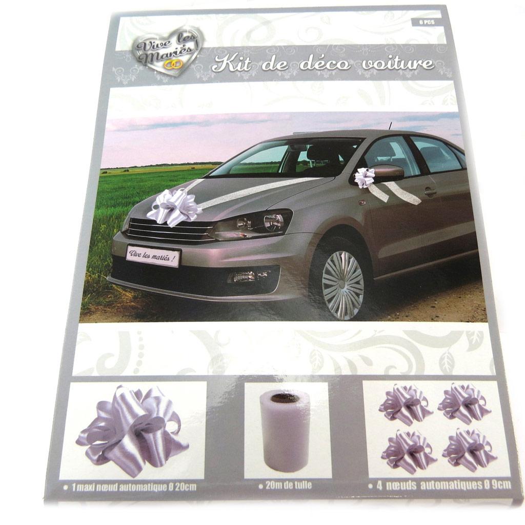 Kit de décoration voiture \'Mariage\'  - [P2694]