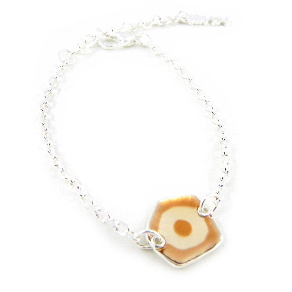 Bracelet Créateur \'Les Acidulés\' marron - [H4790]