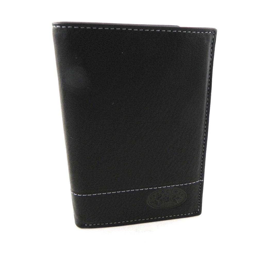 Portefeuille \'Lafayette\' noir compact - [H4976]