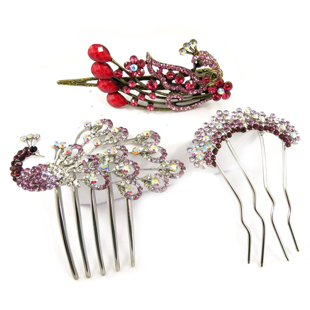 Set de 3 accessoires \'Sissi\' (3 pièces) - [K6918]
