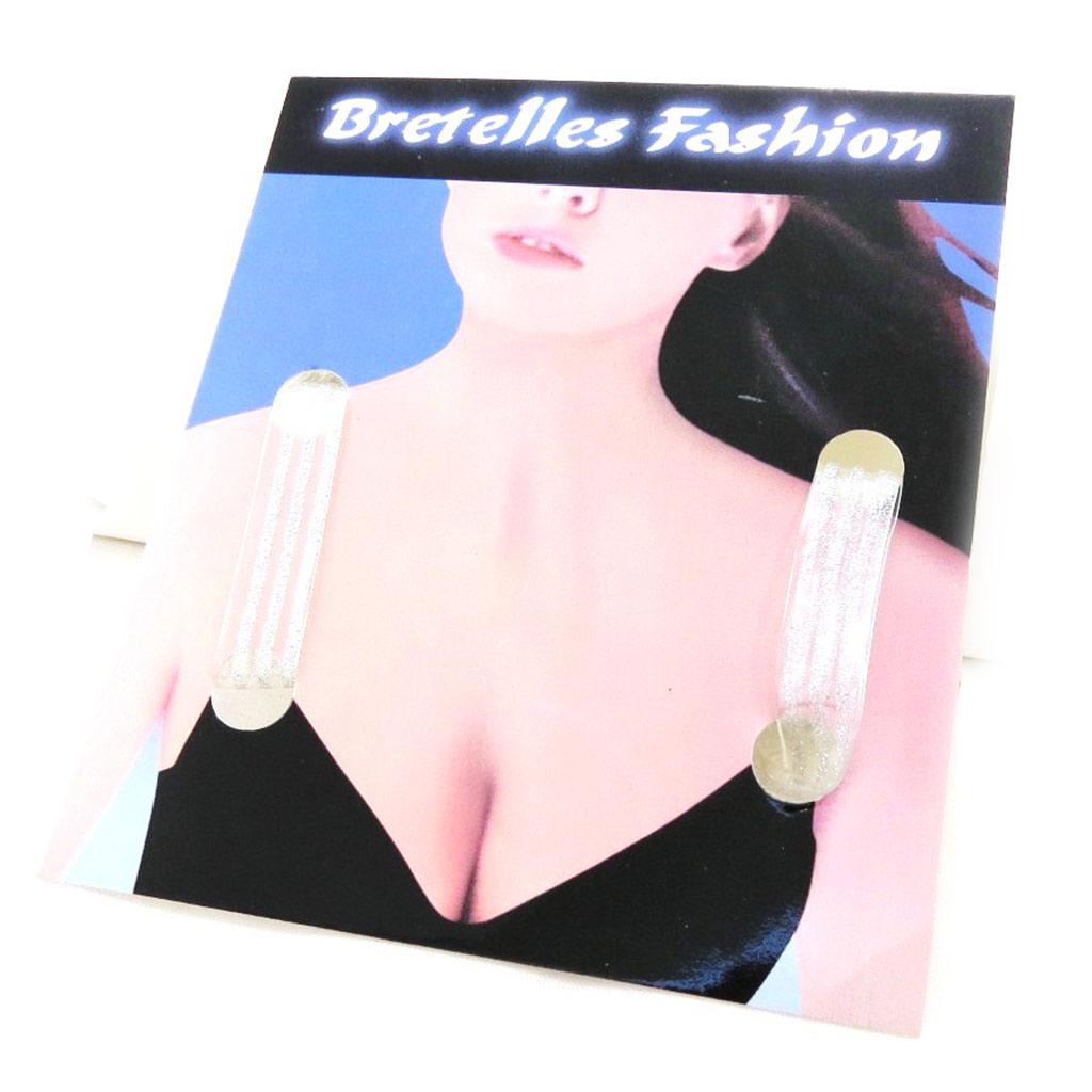 Bretelles Soutien Gorge \'Rayures Argentés\'  - [D5249]