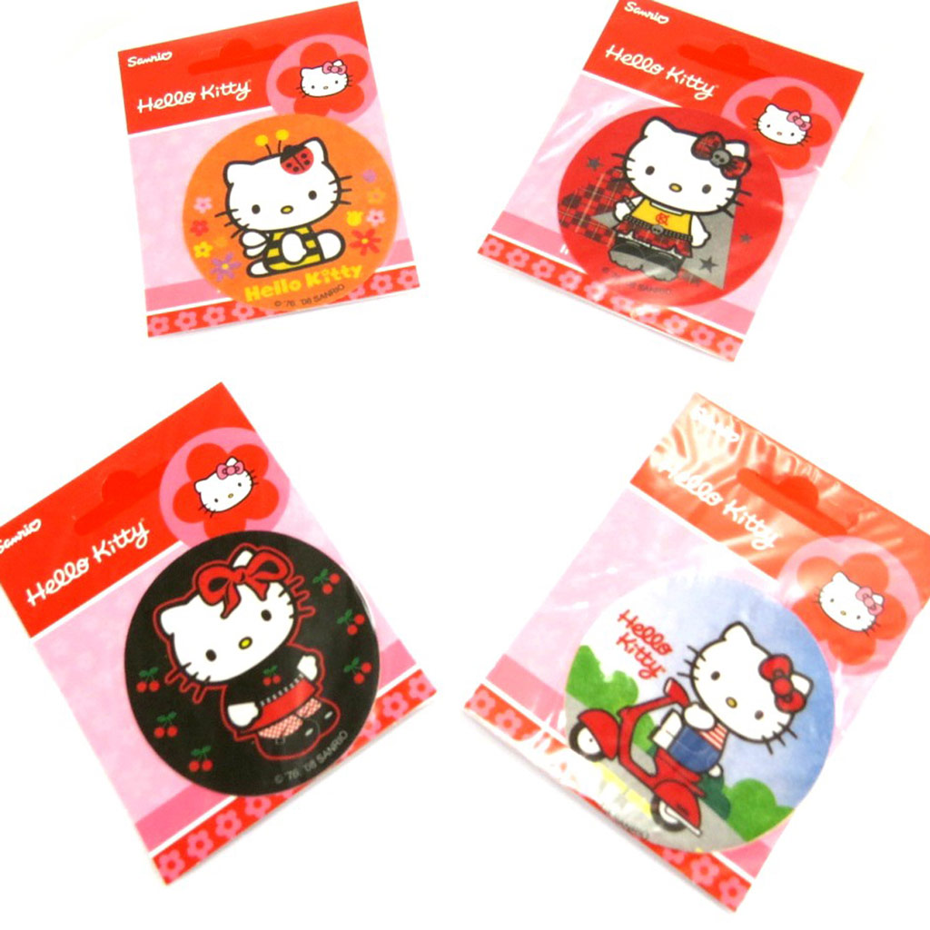 Set de 4 patchs thermocollants \'Hello Kitty\'  - [L2064]