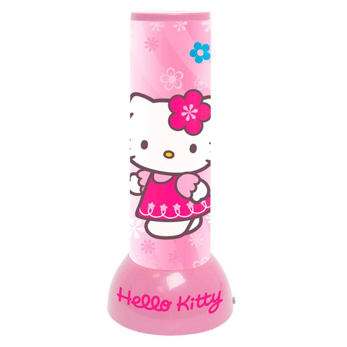 Lampe veilleuse \'Hello Kitty\' rose - 19x8 cm - [R2546]
