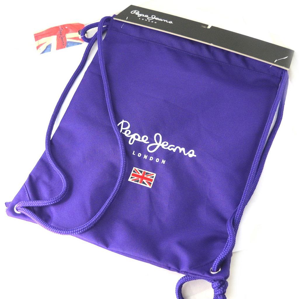 Sac de gym \'Pepe Jeans\' violet (43x33 cm) - [M7887]