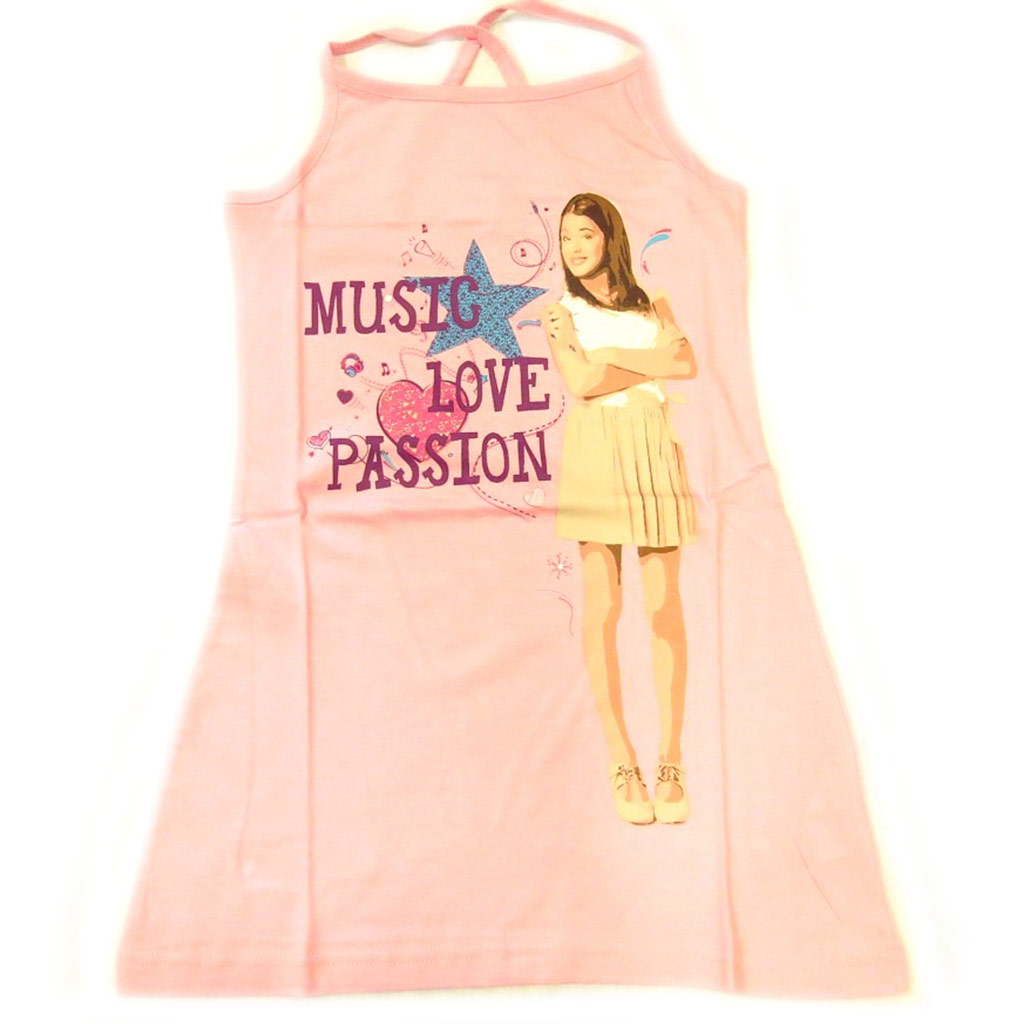 Pyjama enfant \'Violetta\' rose pâle - [L2096]
