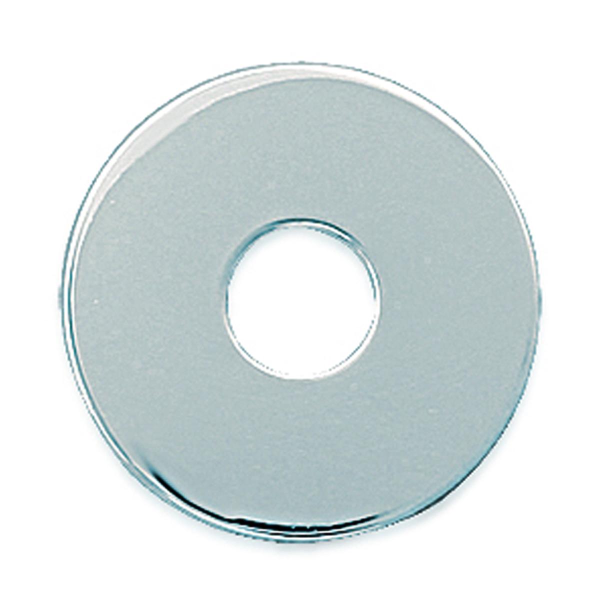 Pendentif Argent \'Ecu\' (à Graver) argenté - 20 mm - [E7035]