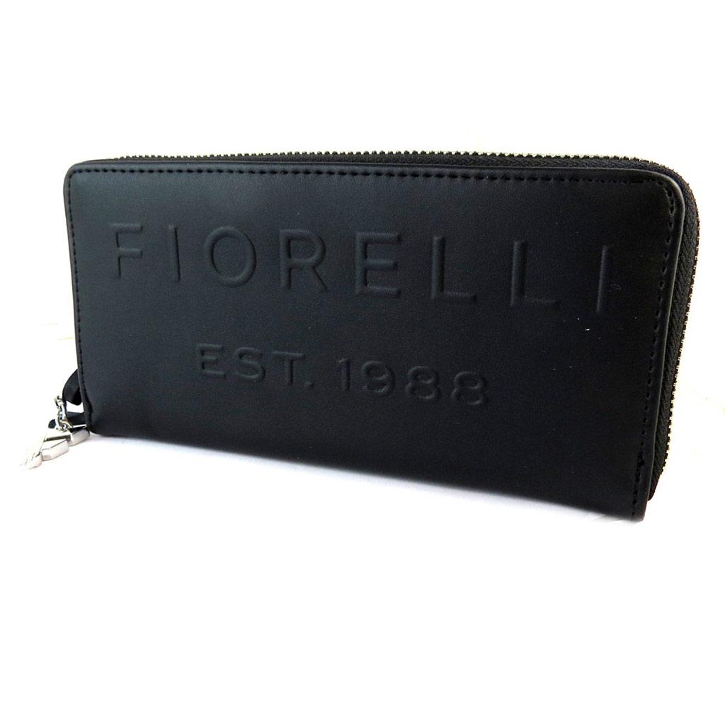 Compagnon zippé \'Fiorelli\' noir - 20x10x2 cm - [N9153]