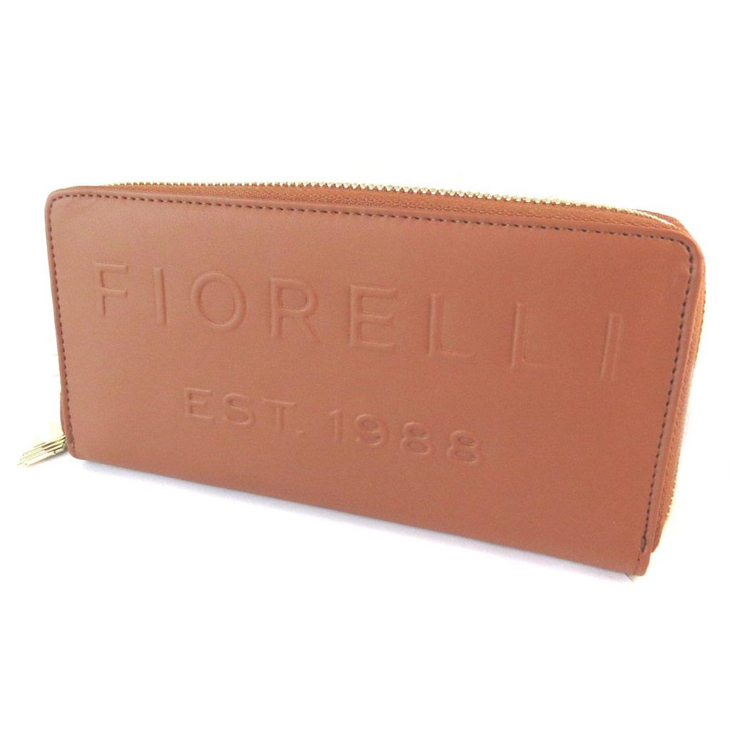 Compagnon zippé \'Fiorelli\' marron tan - 20x10x2 cm - [N9154]