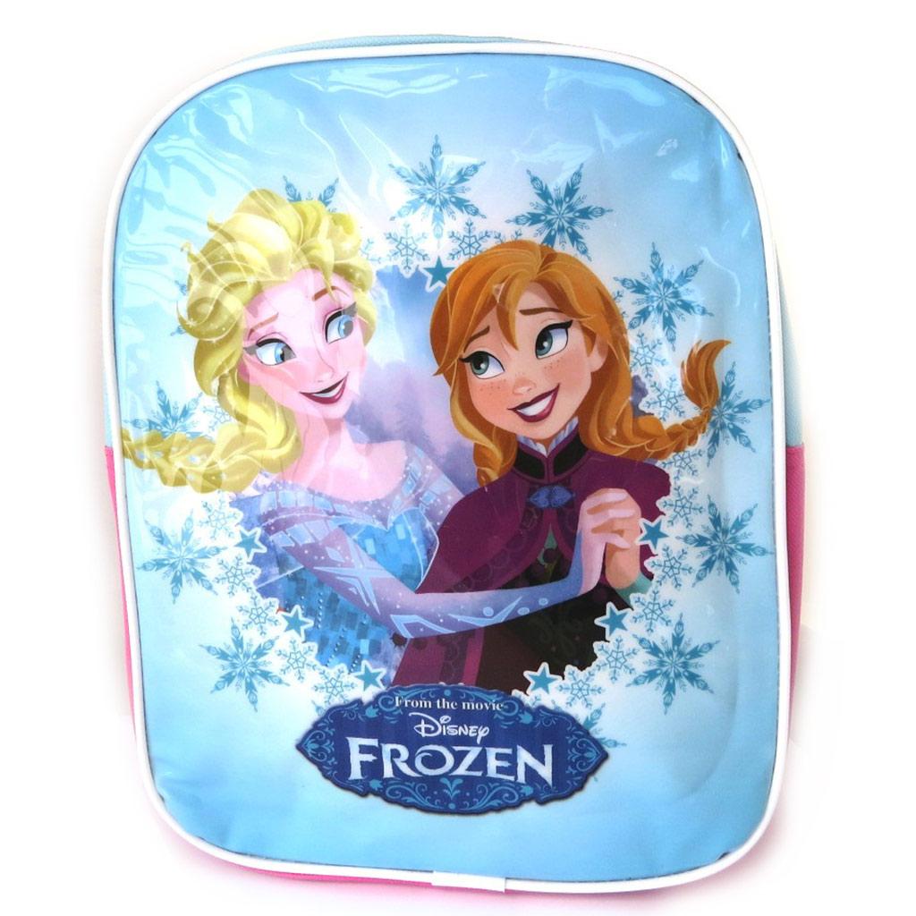 Sac à Dos \'Frozen - Reine des Neiges\' bleu rose (315x245x8 cm) - [M8303]