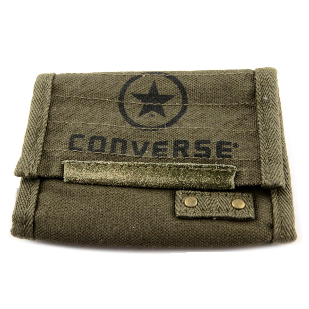 Portefeuille \'Converse\' kaki vintage - 125x95 cm - [R2742]