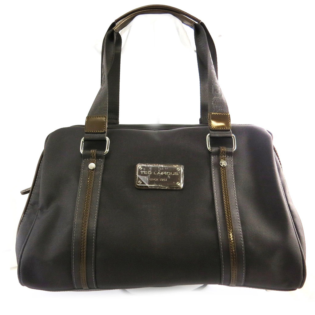 Sac bowling \'Ted lapidus\' taupe - [M8642]