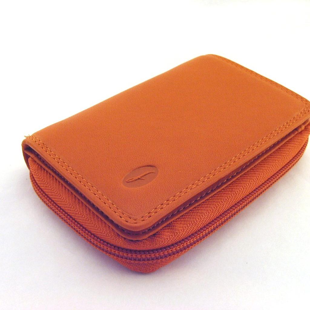 Portefeuille \'Del Arte\' Orange  - [E8049]