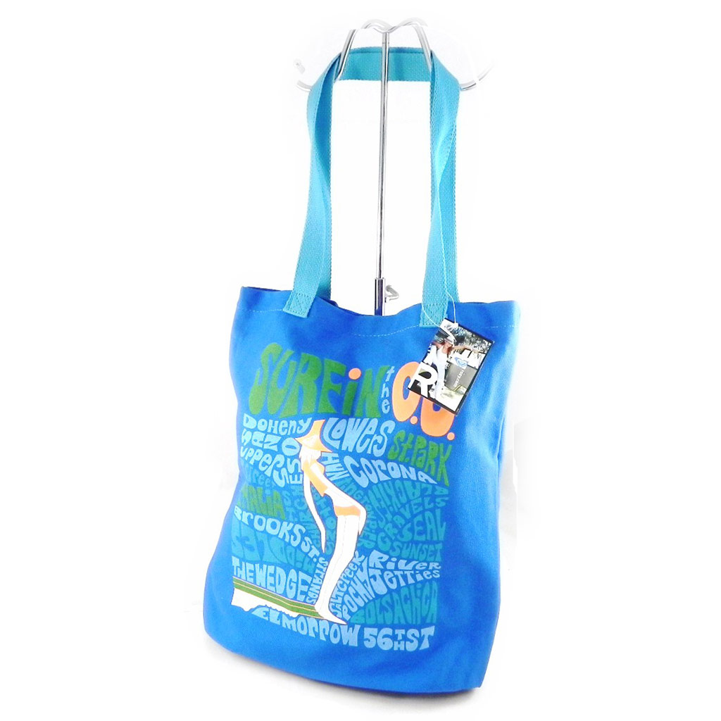 Sac shopping \'Roxy\' bleu  - [H5654]