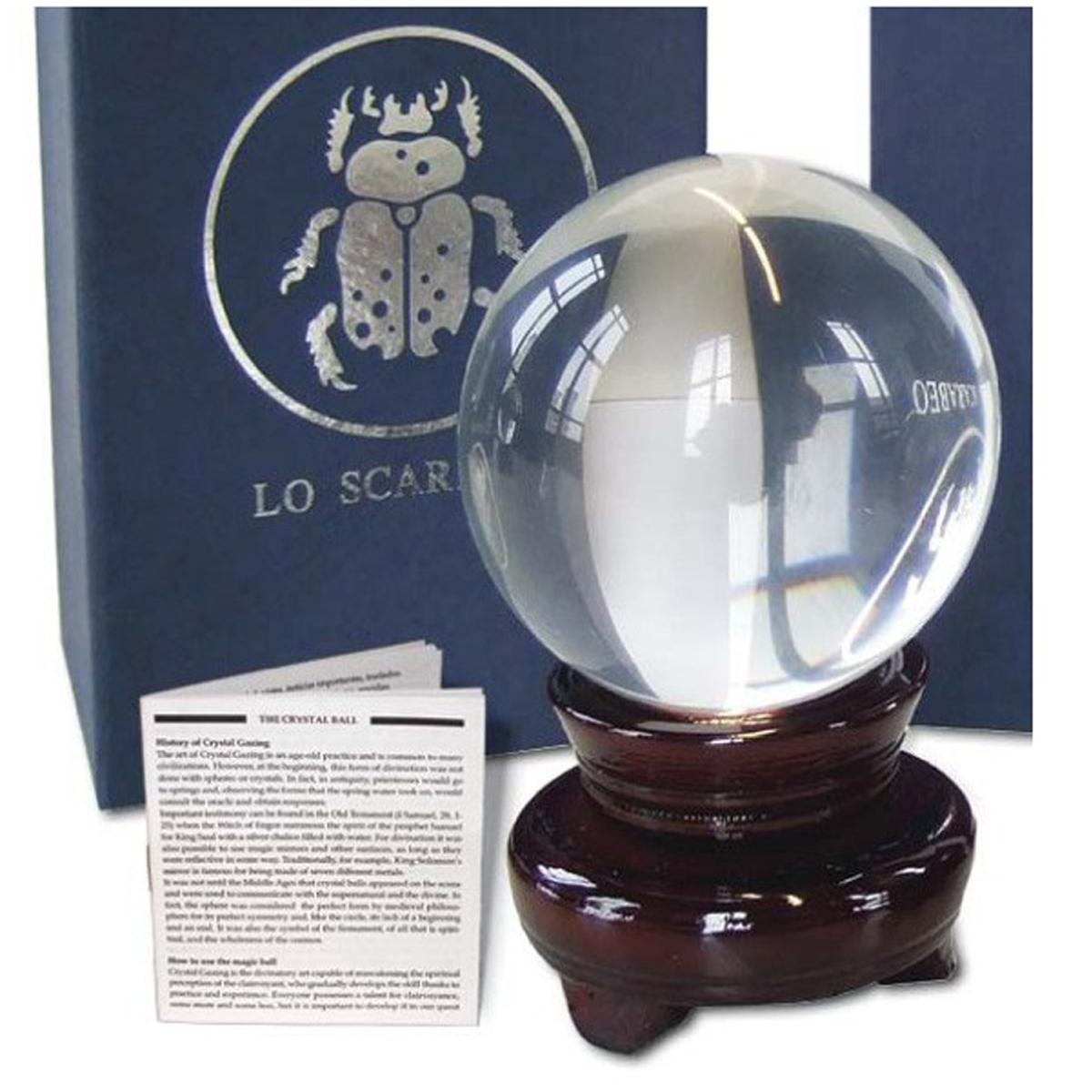 Boule de cristal \'Oracle\' - 12 cm - [R2802]