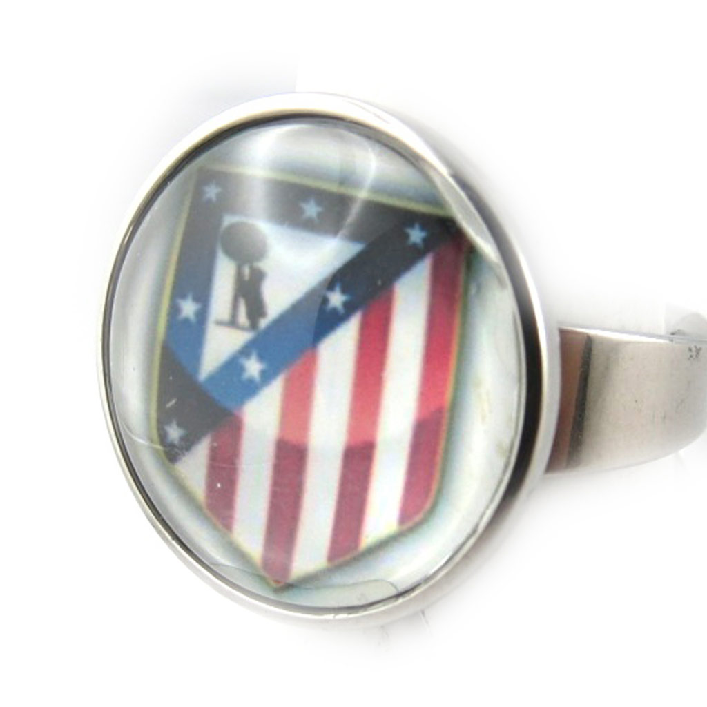 Bague fantaisie \'Football\'  - [K7391]