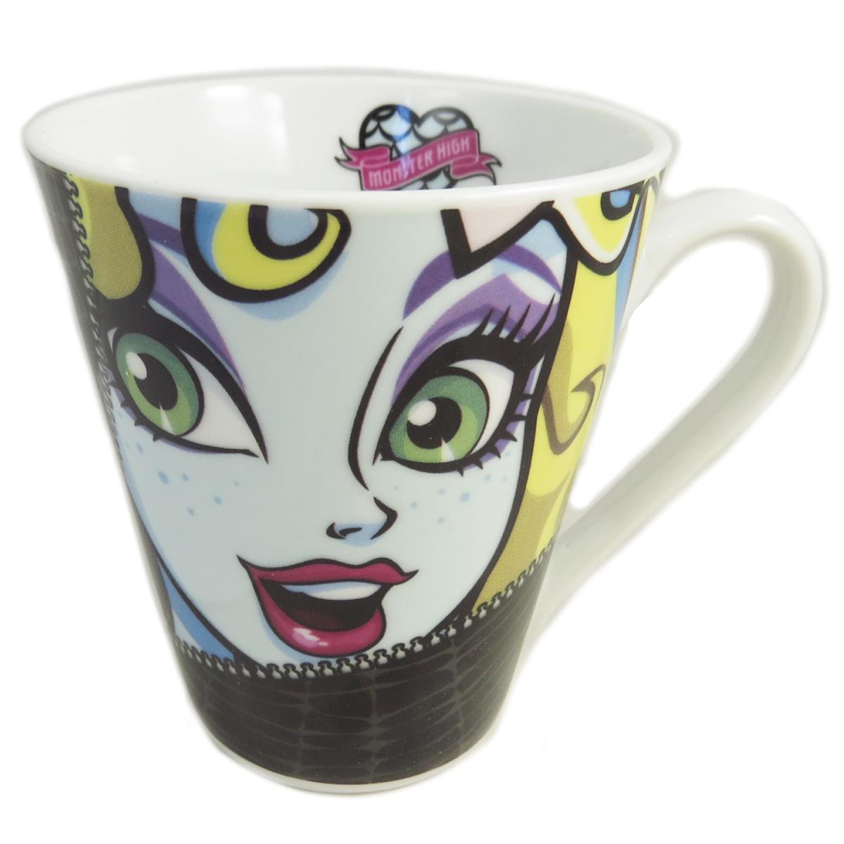 Mug porcelaine \'Monster High\' multicolore - 10x8 cm (Lagoona Blue) - [J3666]
