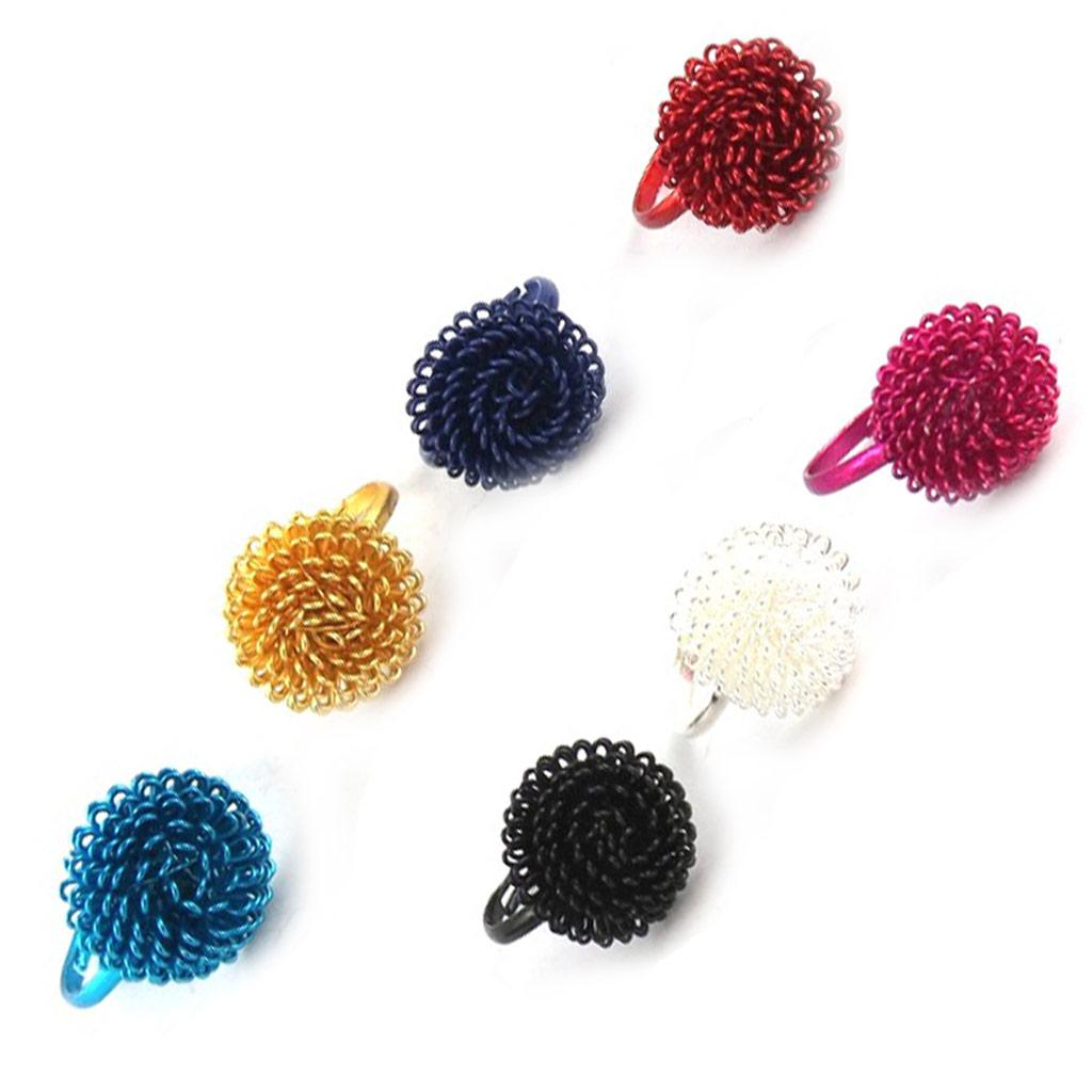 7 bagues \'Coloriage\' tutti frutti - [K7395]