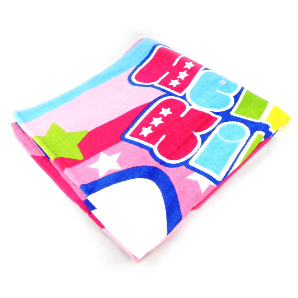 Drap de plage \'Hello Kitty\' disco - [H6062]
