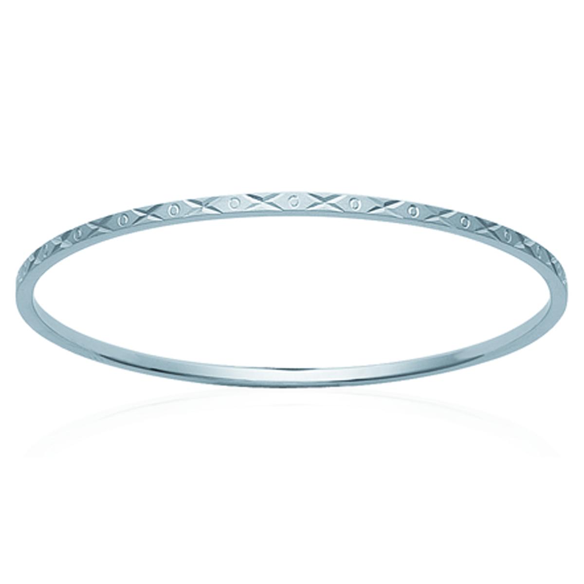 Bracelet Acier \'Chorégraphie\' argenté - 65 mm 2 mm - [H6203]