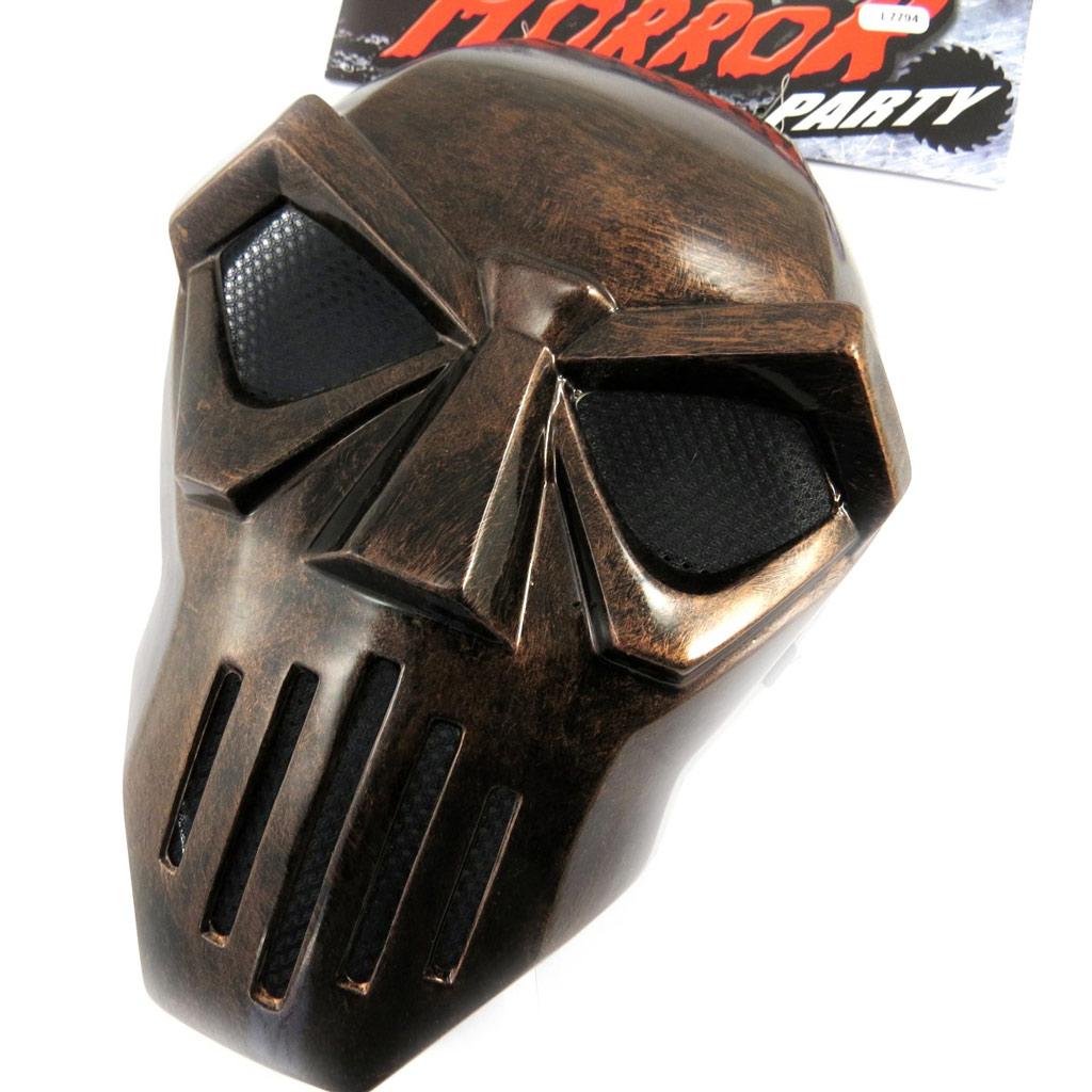 Masque de déguisement \'Masque de Fer\' marron - [L7794]