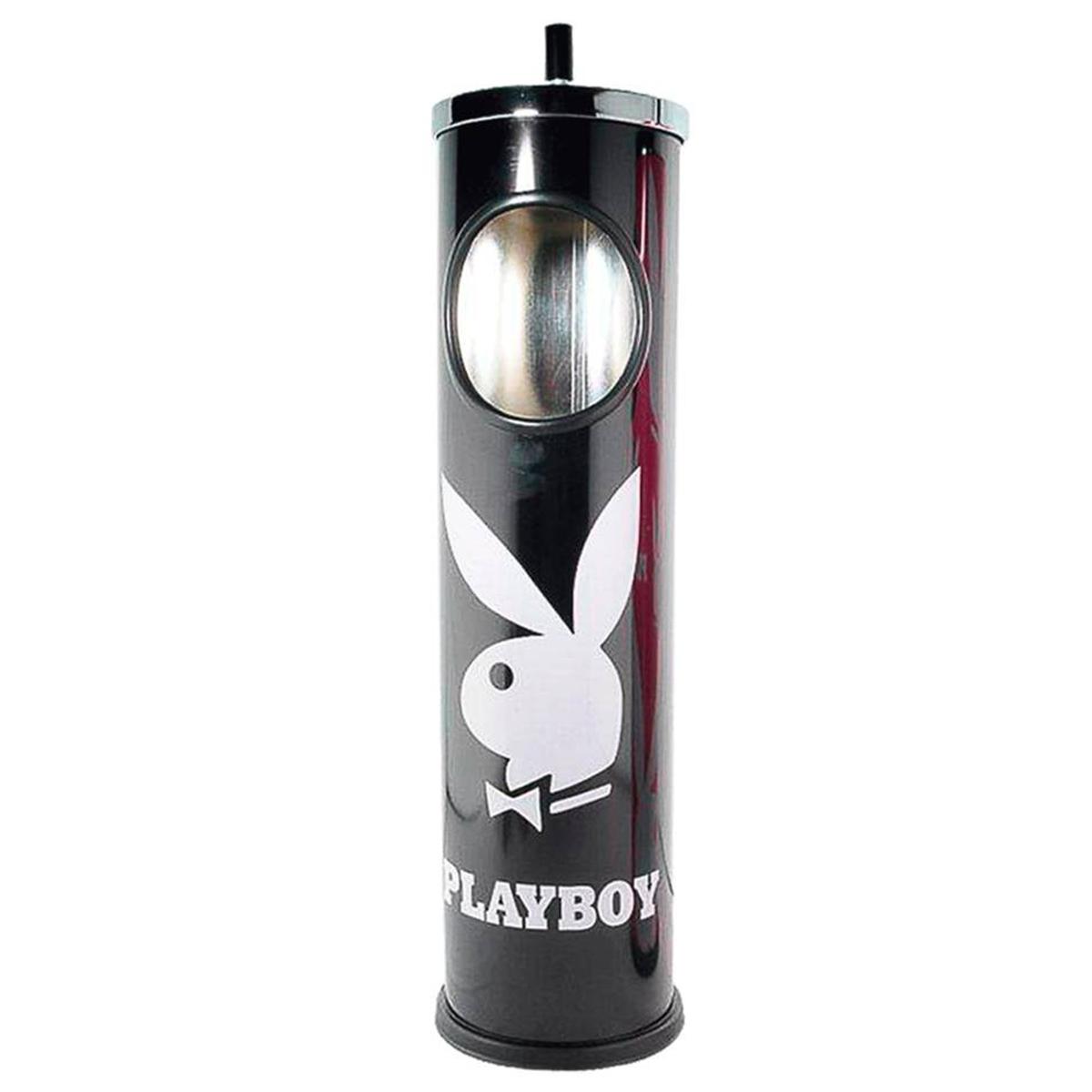 Cendrier géant \'PlayBoy\' noir - 64x14 cm - [K8549]