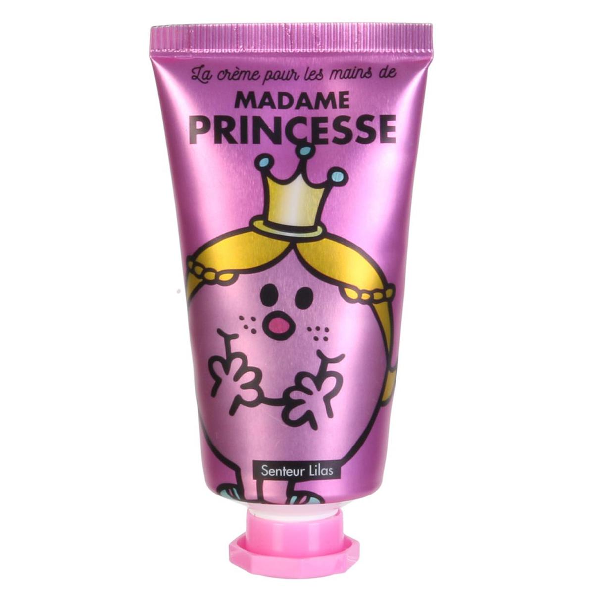 Crème pour les mains \'Monsieur Madame\' (Princesse - Lilas) - 8x3 cm, 30 ml - [A0551]