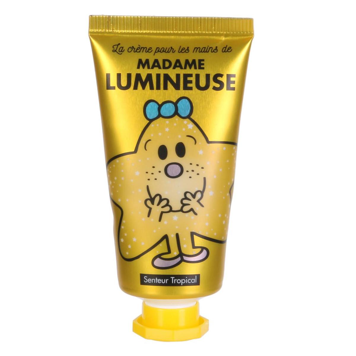 Crème pour les mains \'Monsieur Madame\' (Lumineuse - Tropical) - 8x3 cm, 30 ml - [A0553]
