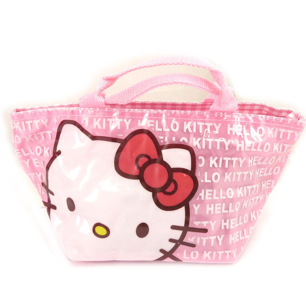 Sac shopping \'Hello Kitty\' rose - 30x15x14 cm - [A0499]