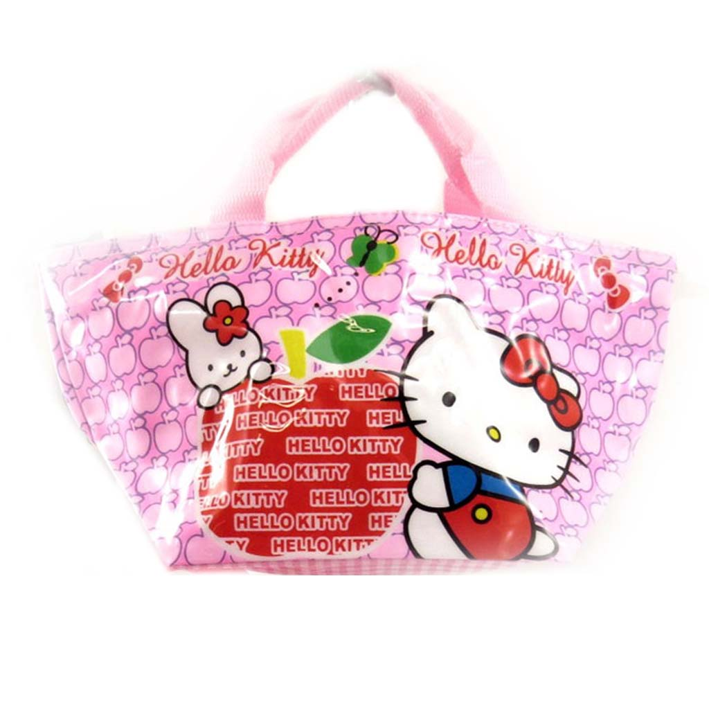 Sac shopping \'Hello Kitty\' rose - 30x15x14 cm - [A0500]