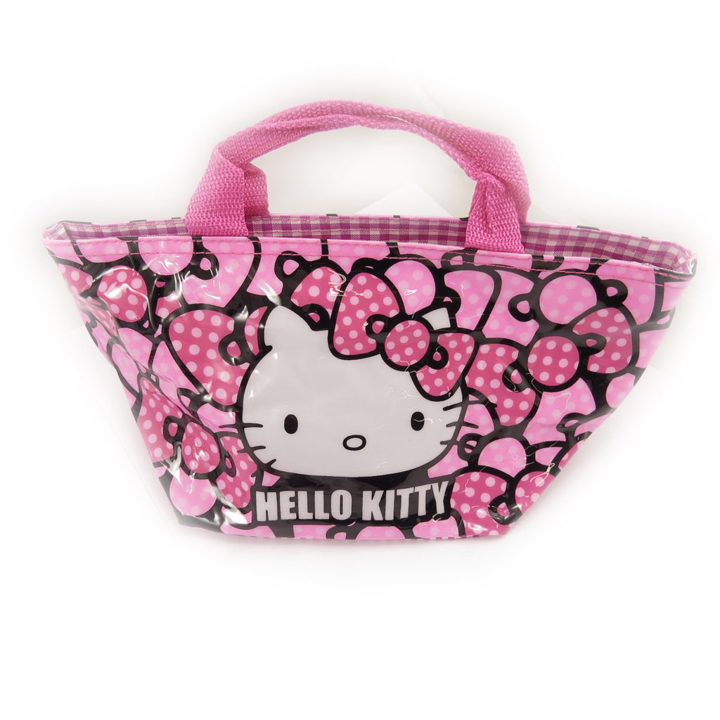 Sac shopping \'Hello Kitty\' rose - 30x15x14 cm - [A0504]