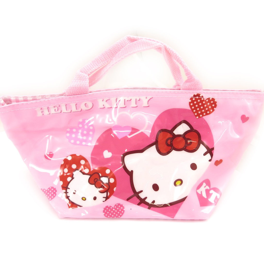 Sac shopping \'Hello Kitty\' rose - 30x15x14 cm - [A0507]