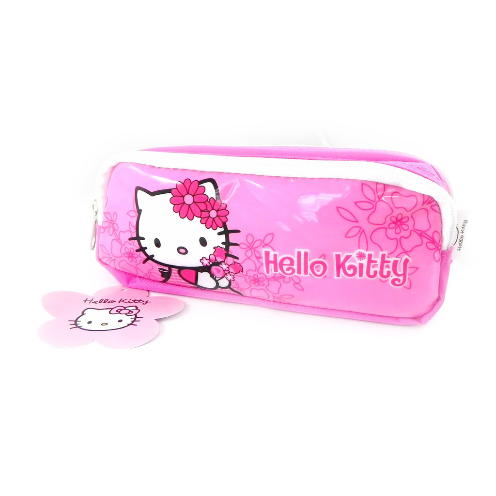 Trousse \'Hello Kitty\' rose  - [I0251]