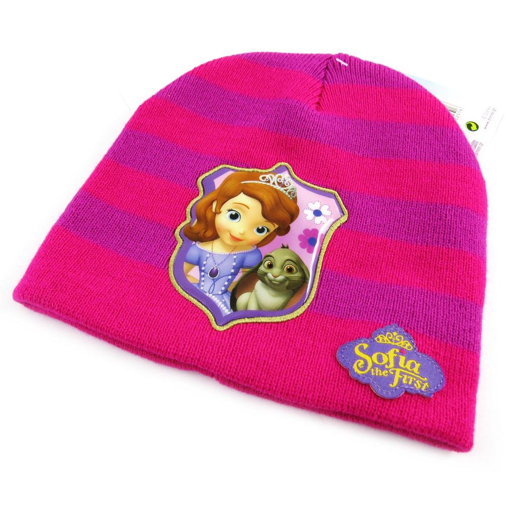 Bonnet enfant \'Princesse Sofia\' fuschia violet - [L7841]
