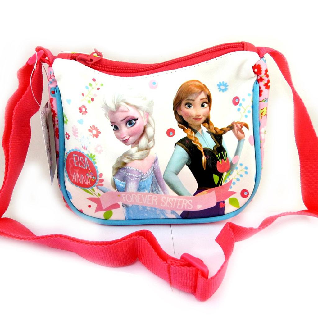 Sac créateur \'Frozen - Reine des Neiges\' blanc multicolore - [L9366]