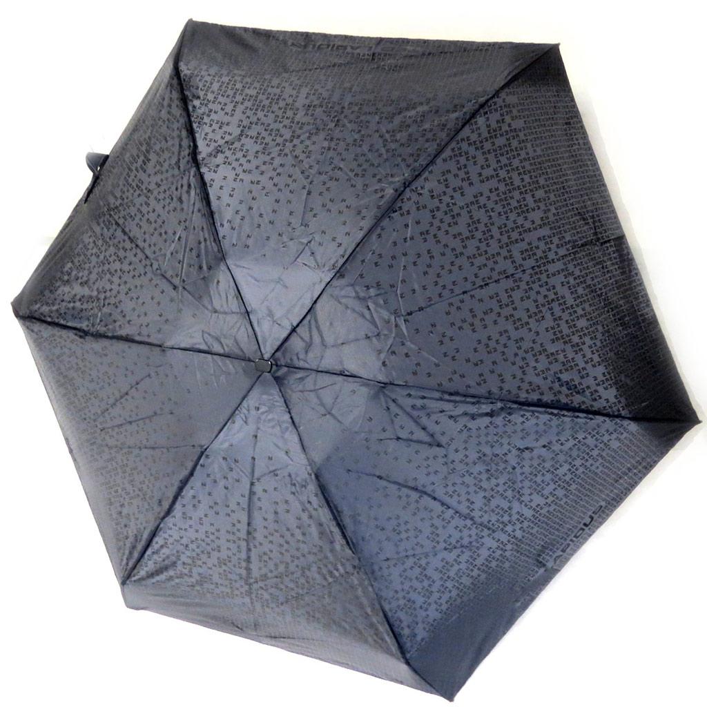 Parapluie mini \'Ted Lapidus\' noir dégradé (box 15x5 cm) - [M0266]