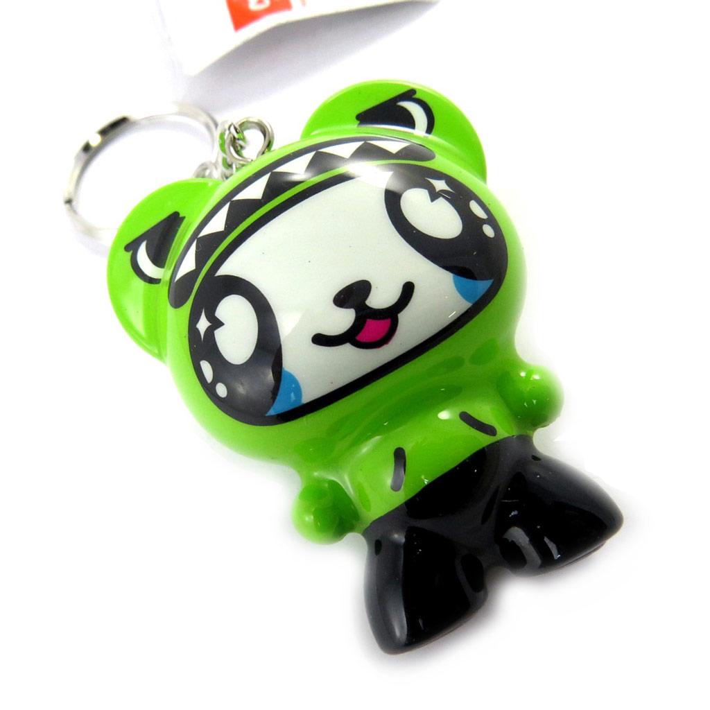 Porte-Clés \'Crazy Panda\' vert - [M0828]
