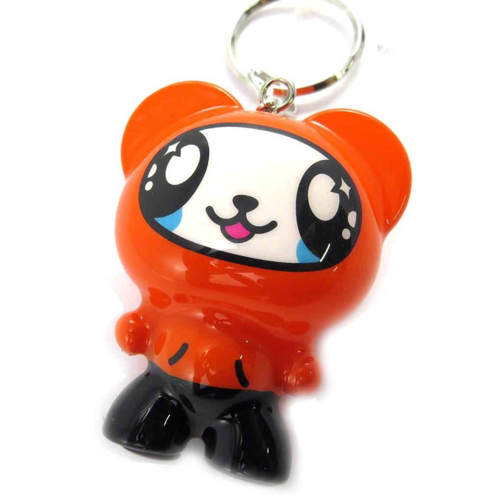 Porte-Clés \'Crazy Panda\' orange - [M0829]