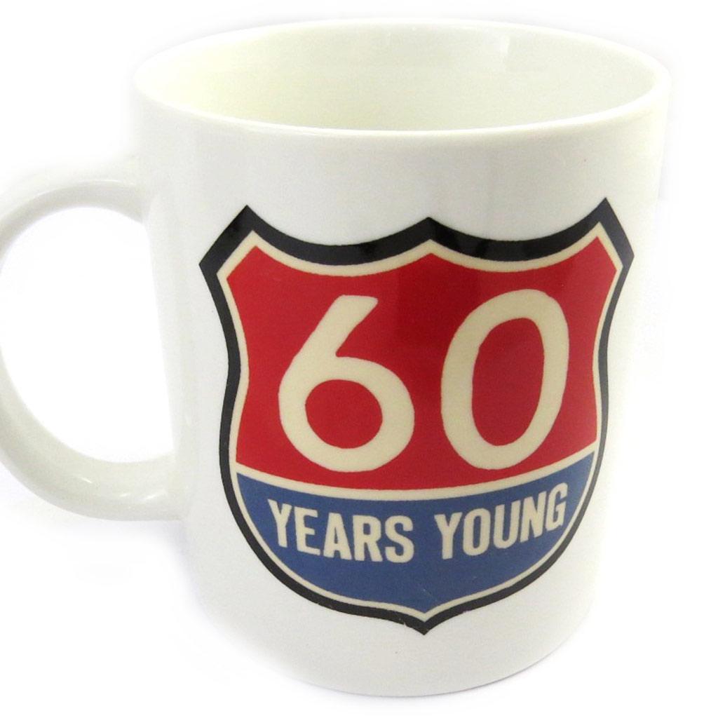 Mug anniversaire \'60 ans\' vintage - [M6757]