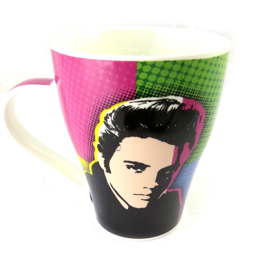 Mug pop art \'Elvis\'  - [M6776]