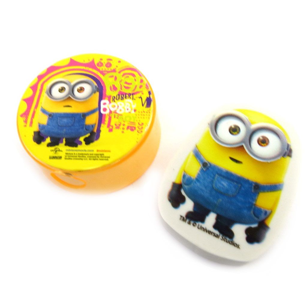 Gomme + taille-crayon \'Minions\'  - [M9232]