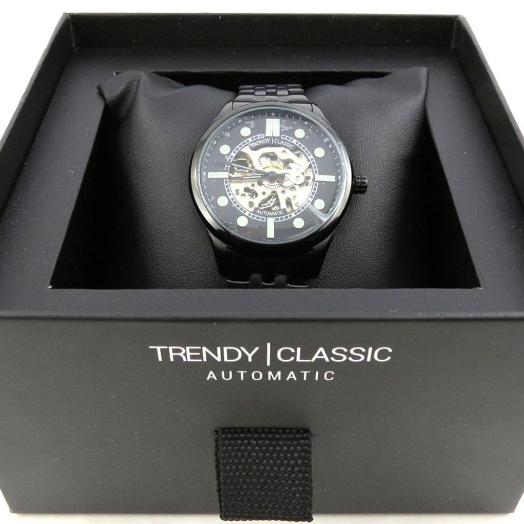 Montre automatique \'Trendy\' noir  - [N2356]
