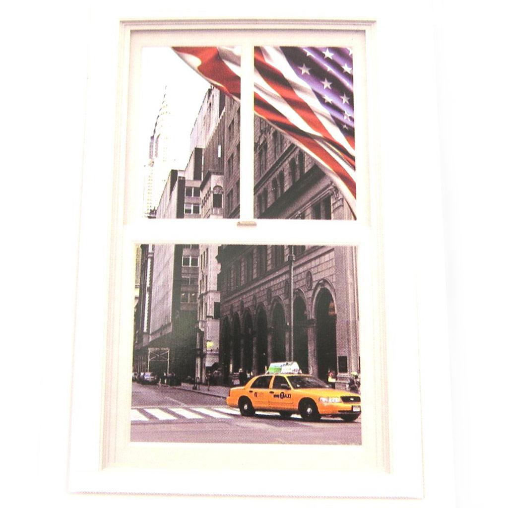 Sticker trompe l\'oeil \'America\'  (50x70 cm) - [M9121]