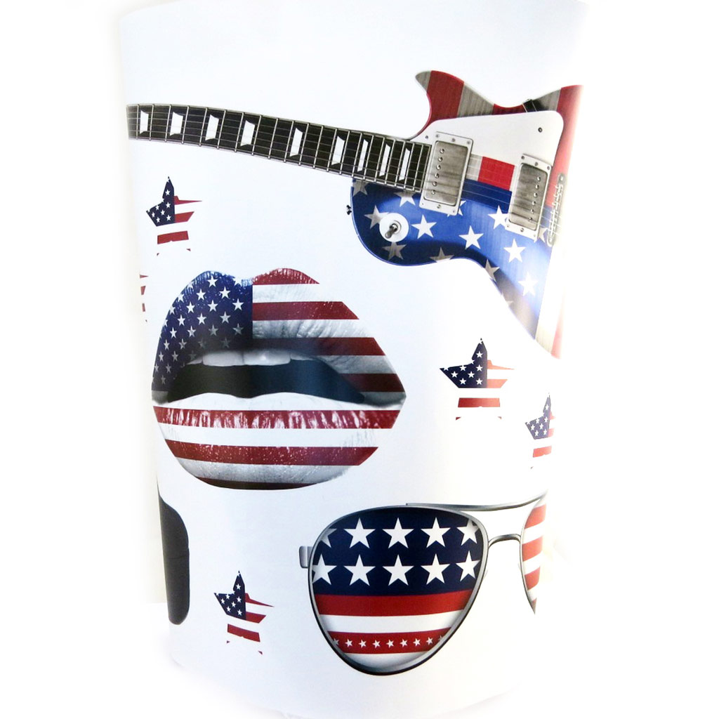 Planche de stickers \'America\' (50x70 cm) - [M9135]