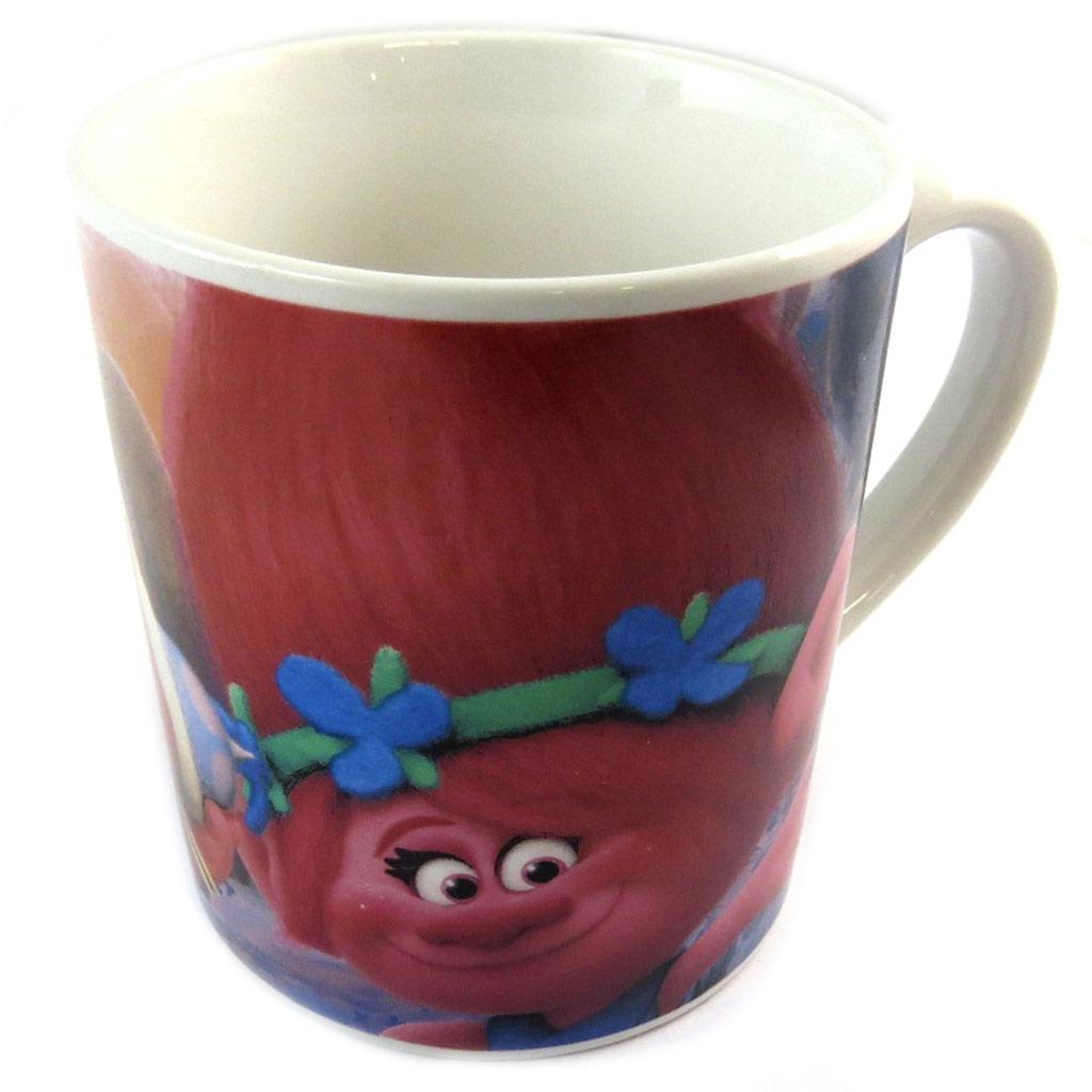 Mug céramique \'Trolls\' multicolore -  23 cl - [N9953]
