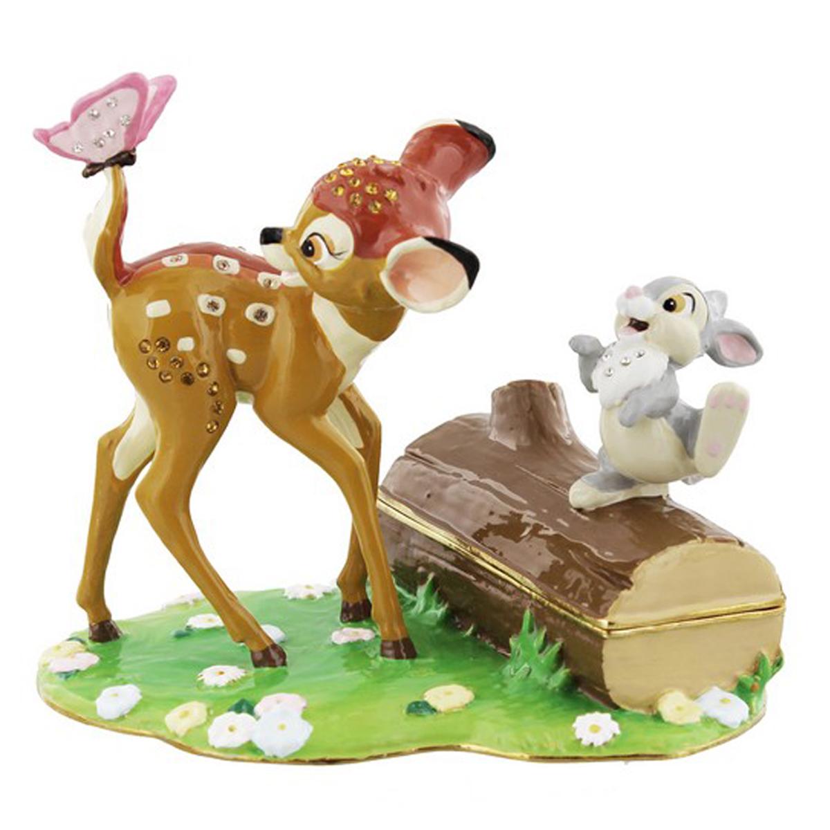 Coffret à Bijoux \'Bambi et ses amis\' (Disney) - 12x11x85 cm  - [Q2036]