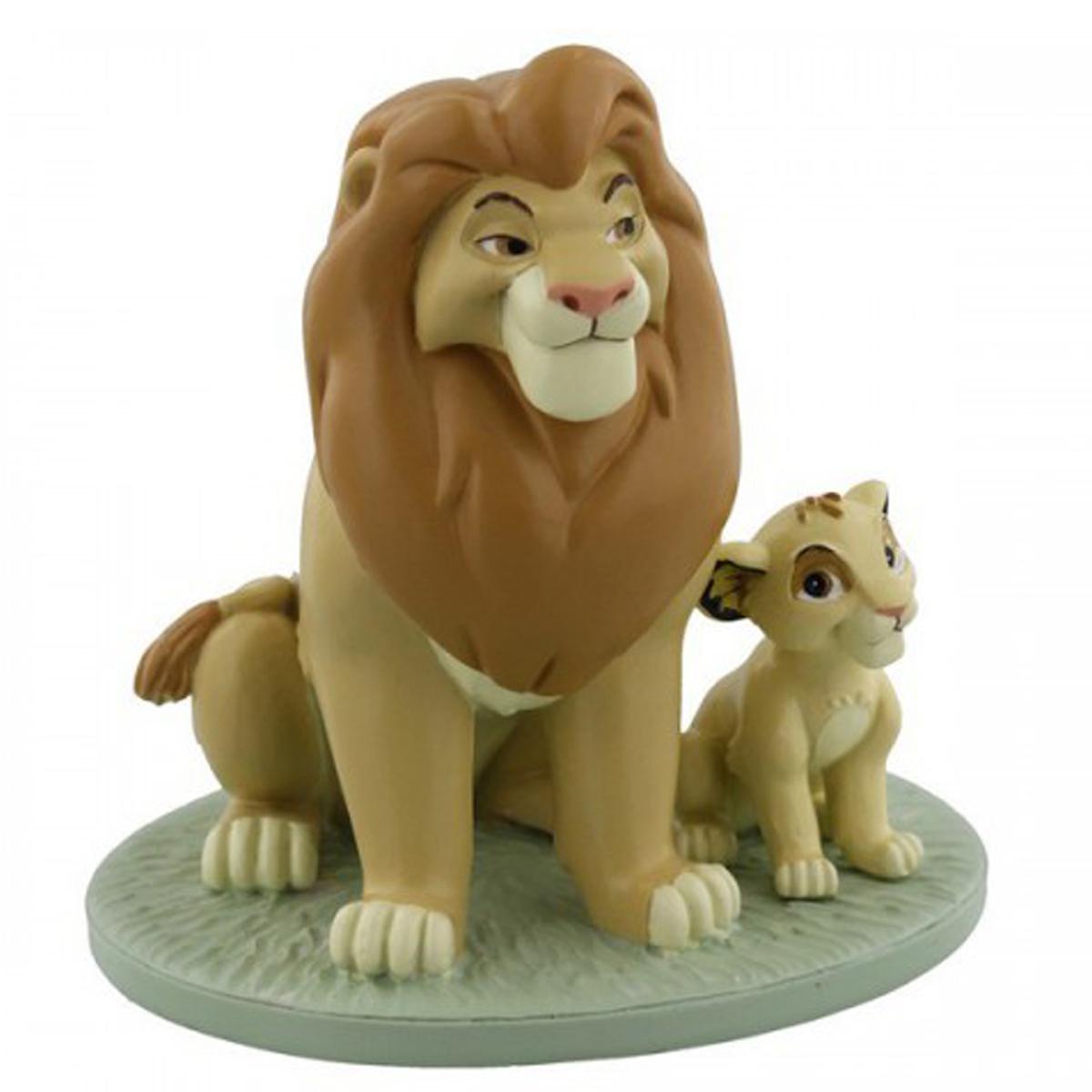 Figurine résine \'Le Roi Lion\' Mufasa Simba - hauteur 11 cm - [Q2062]
